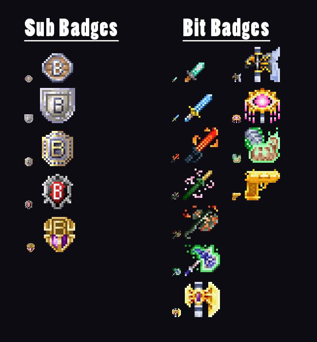 ArtStation - Twitch tv Barley Badge Icons, Kevin Butler
