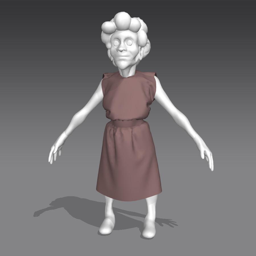 Irene arnaiz lopez dress sol