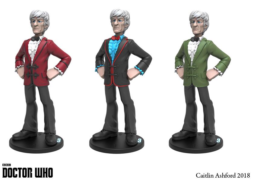Caitlin ashford 3rd doctor colours