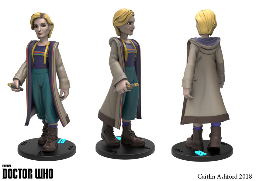 Caitlin ashford 13th doctor turn