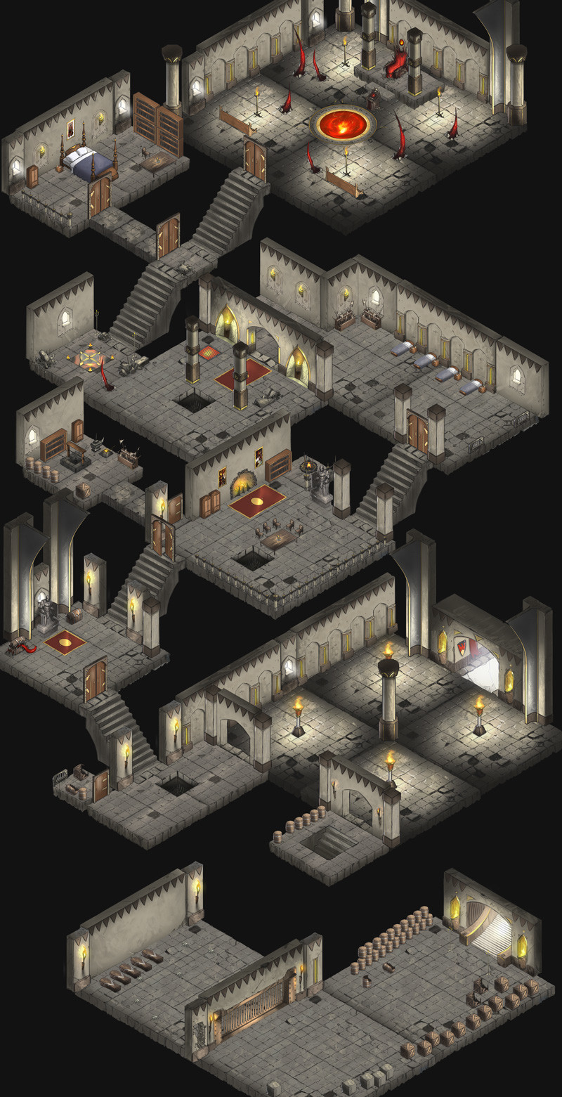 Dark Tower dungeon example