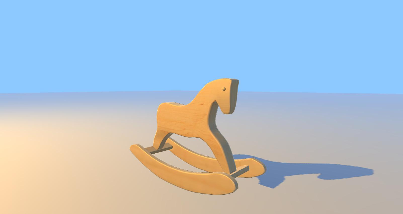 Artstation Wooden Horse Brianna Schultz