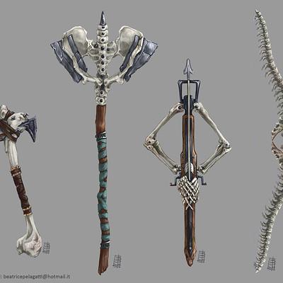 Beatrice pelagatti four undex weapon
