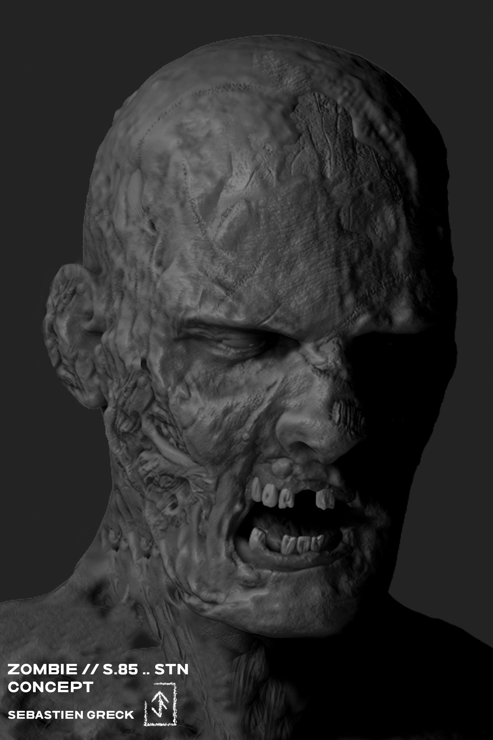 Sebastien greck zombies s 85 sebastien greck portrait