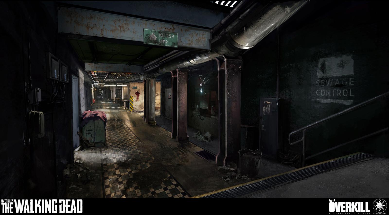 Overkill's The Walking Dead Concept Art (multiple images)