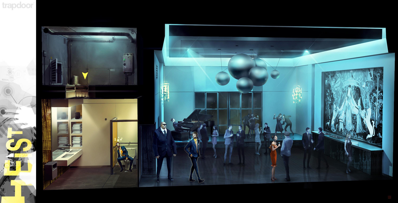 Ballroom mission (gameplay loop)...