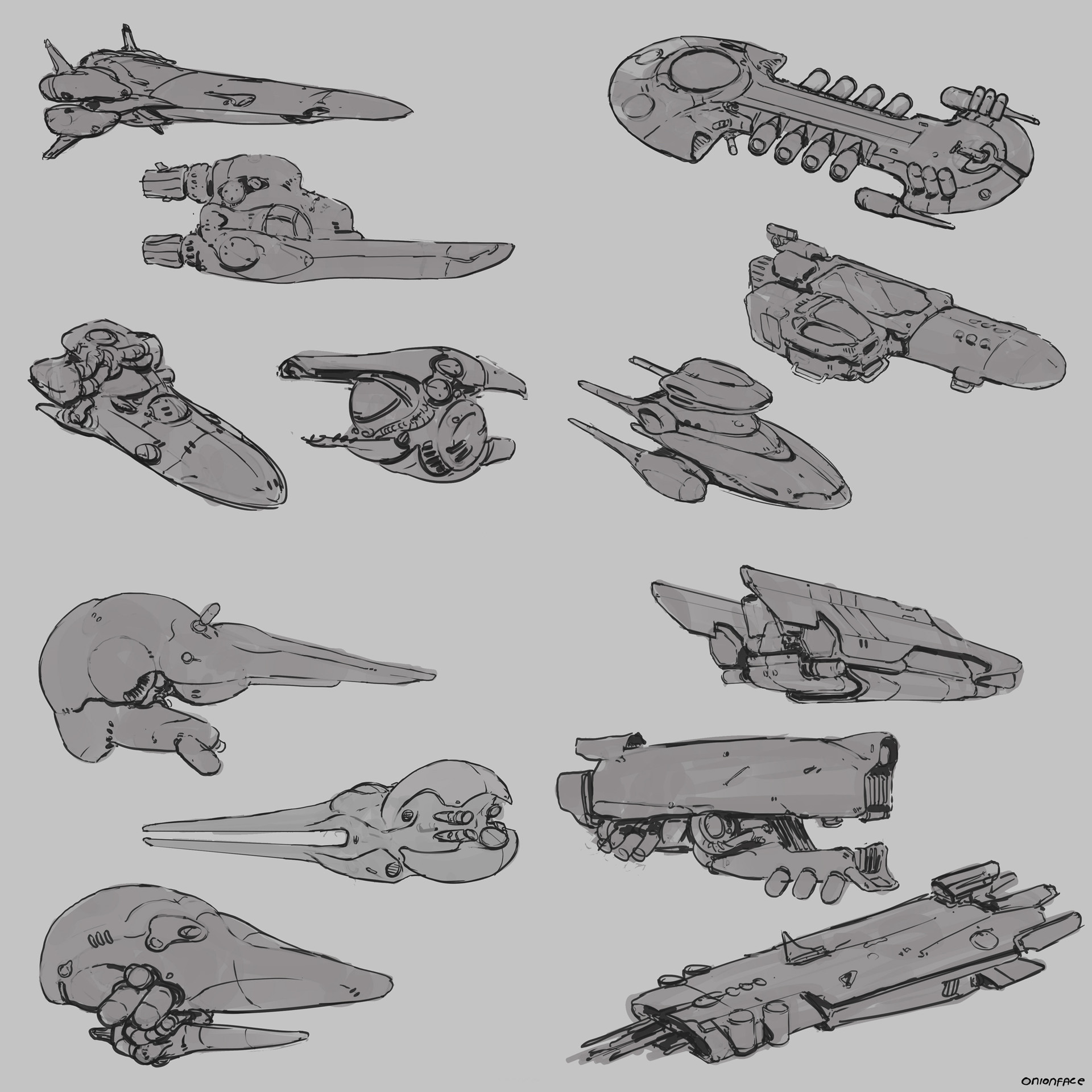 West clendinning spaceship doodles 03