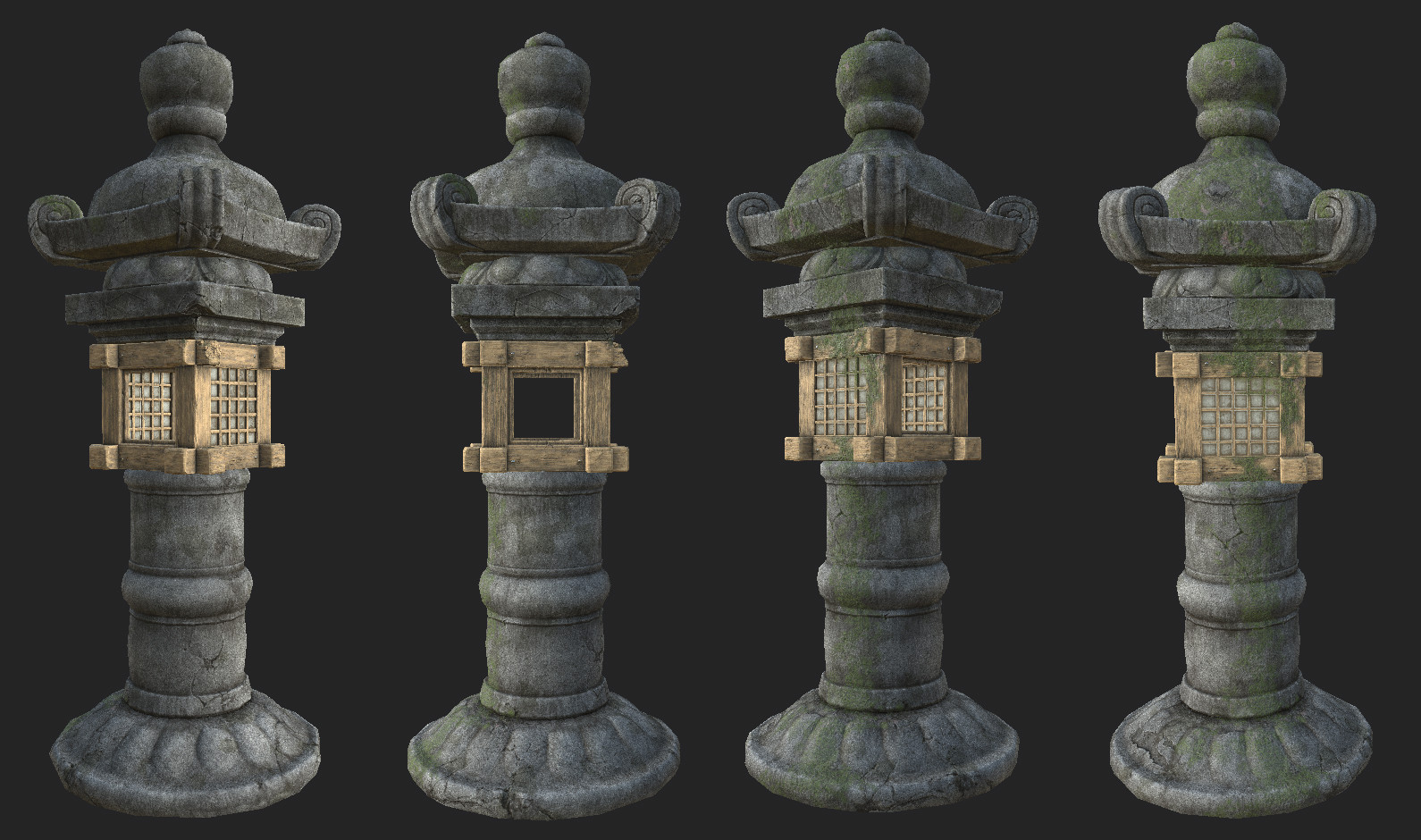 Substance Painter texturing from low resolution mesh and baked maps