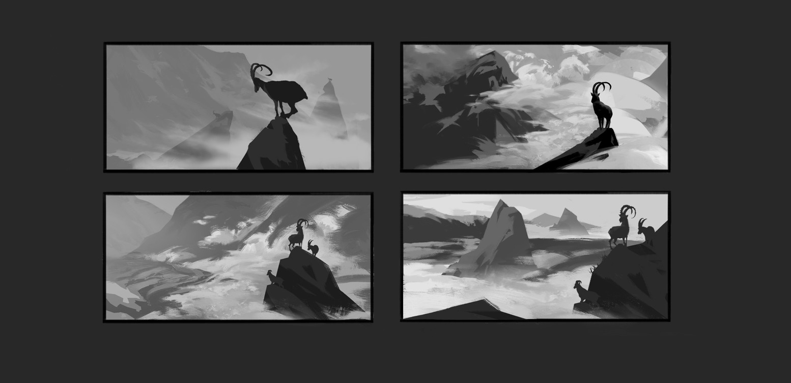 Early thumbnail work.