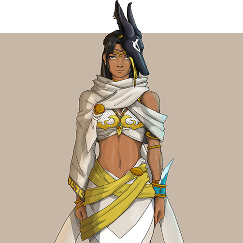 Egyptian Shaman variation