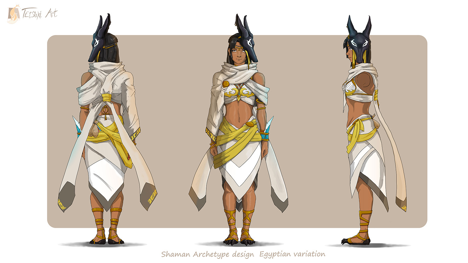 Character design coloration