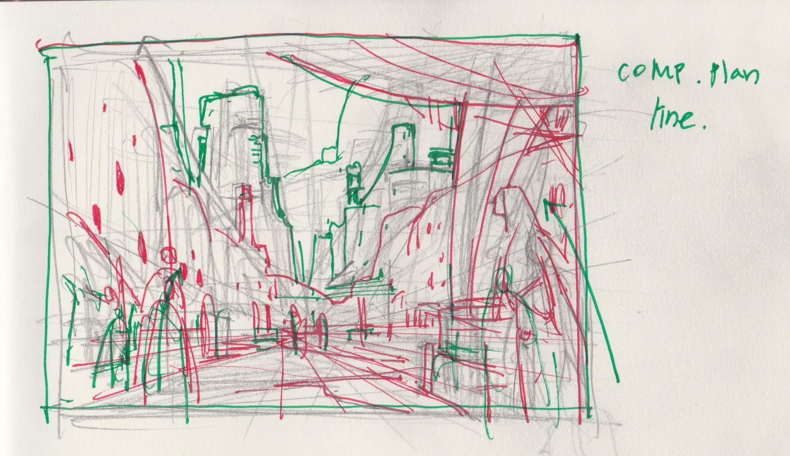 Xerxian Hideout / Insurgent sketch plan