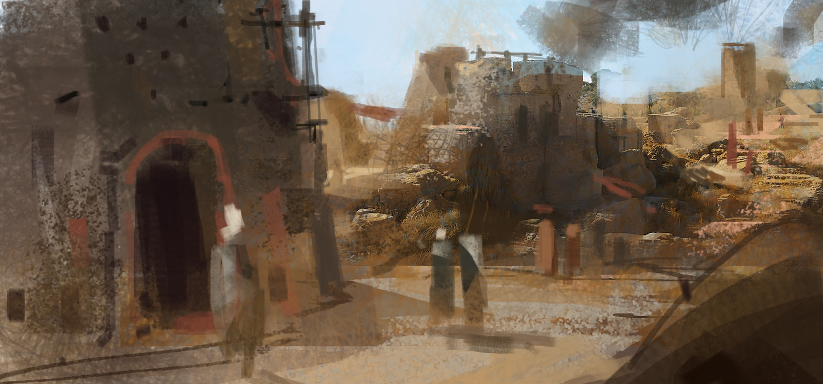 Xerxian Hideout / Insurgent sketch03