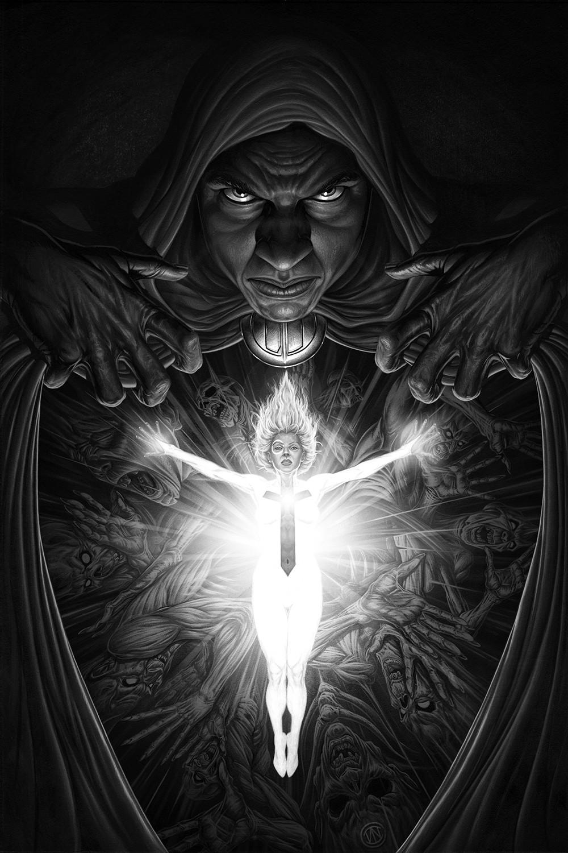 Cloak & Dagger (grayscale)