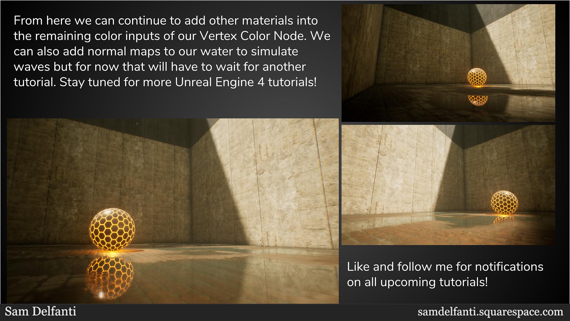 ArtStation - Unreal Engine 4 Tutorial: Vertex Painting