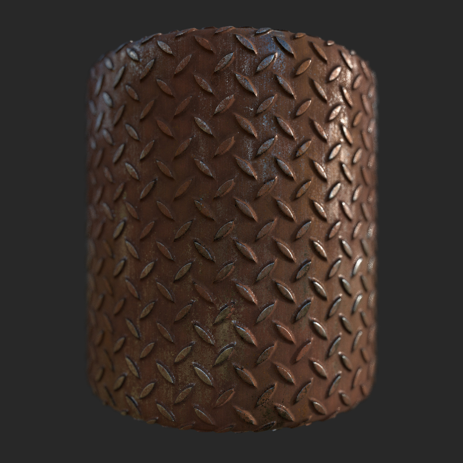 Rushed Metal Study Substance Designer (100% Procedural work)