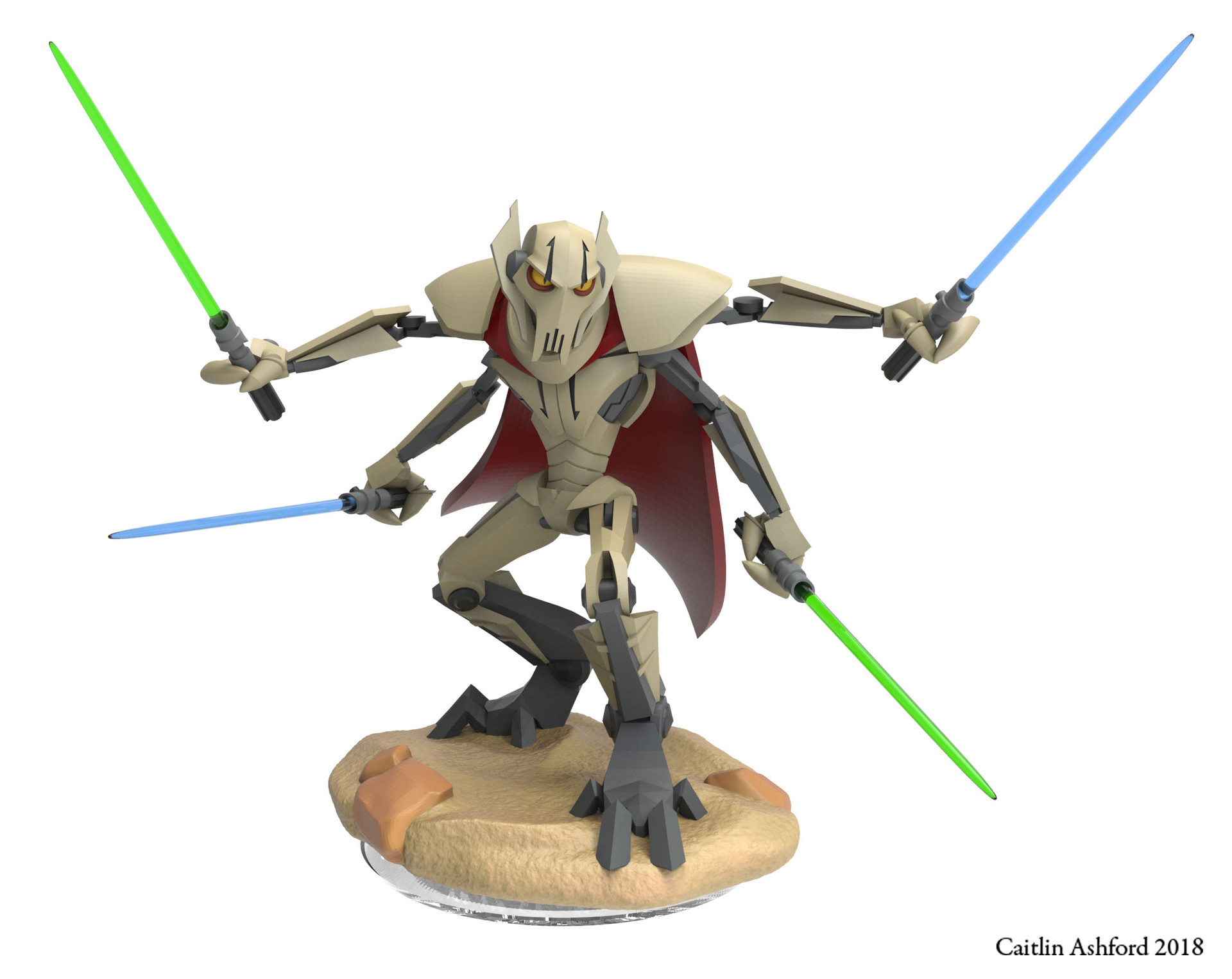 General Grevious (or Chesty McWheezypants as I like to call him)