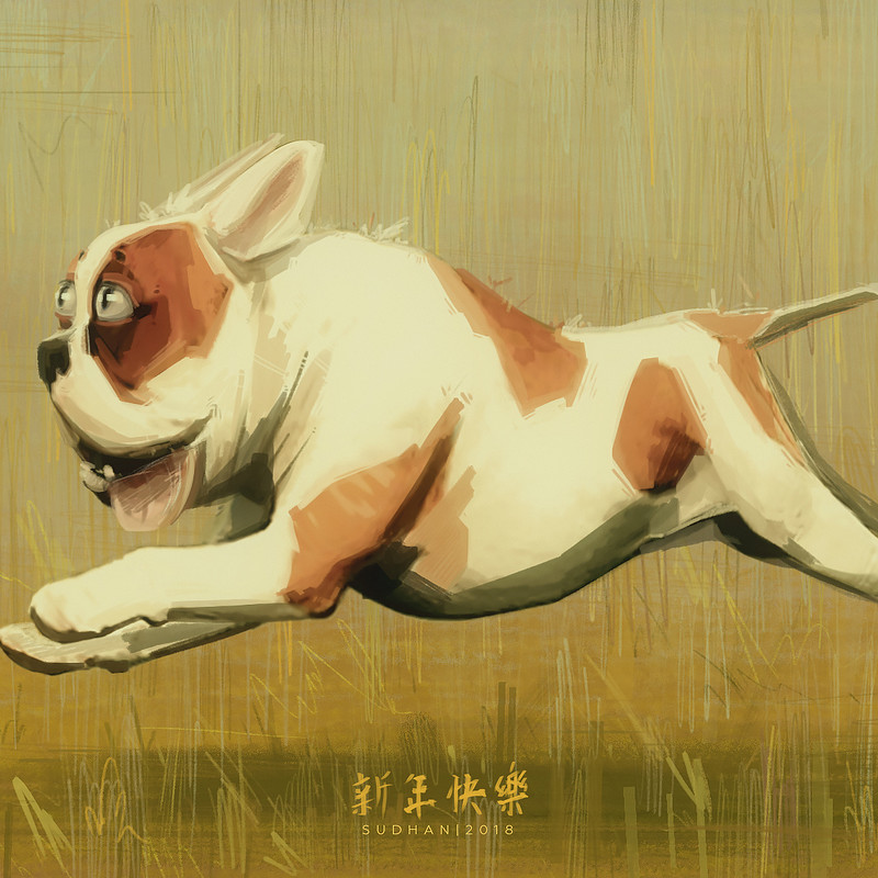 Happy Year Of The Dog! [XX18]