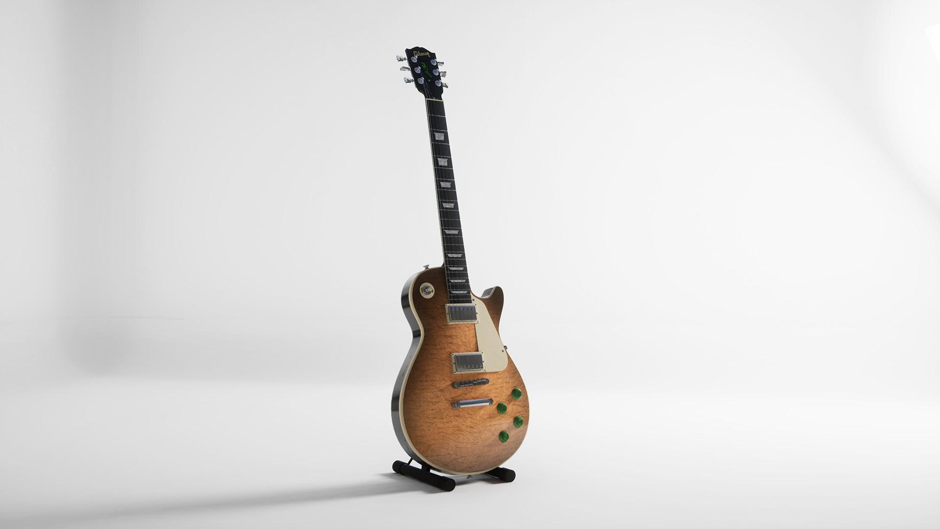 ArtStation - Gibson Les Paul , Patrick Giang