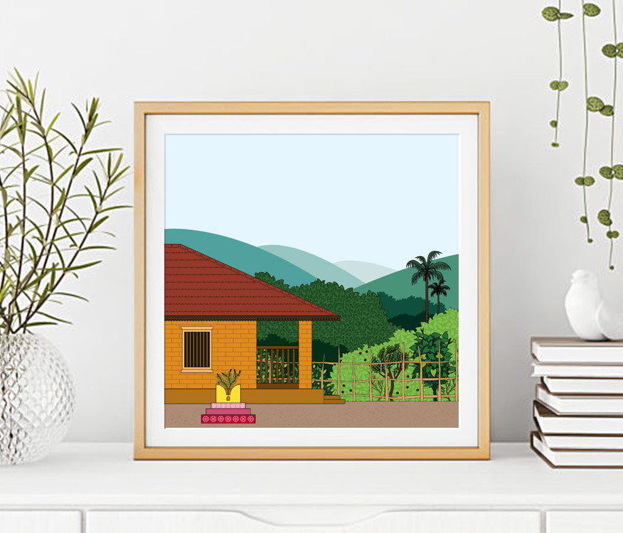 Rajesh r sawant square poster frame mockup 600x450