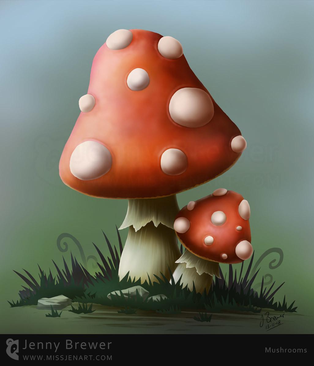 Jenny brewer mushrooms