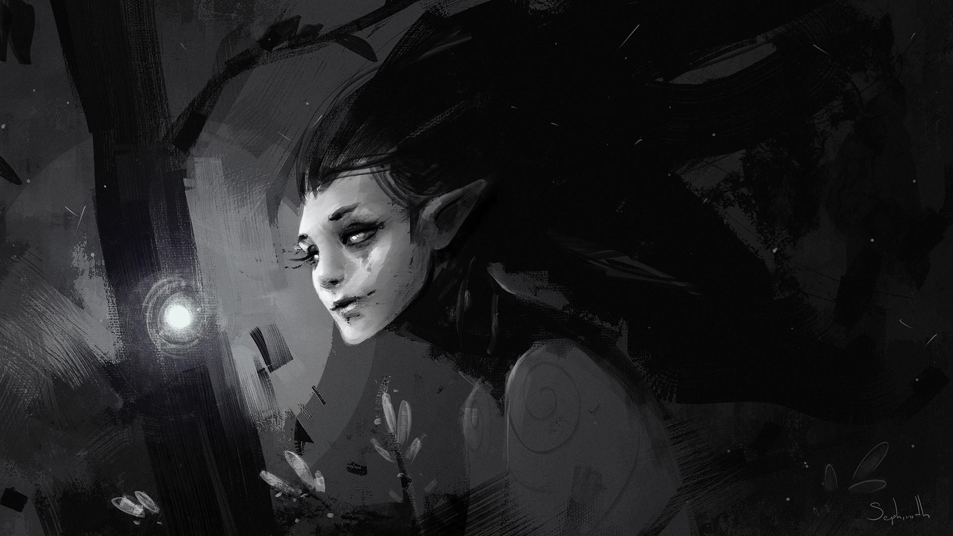 Sephiroth art kalm