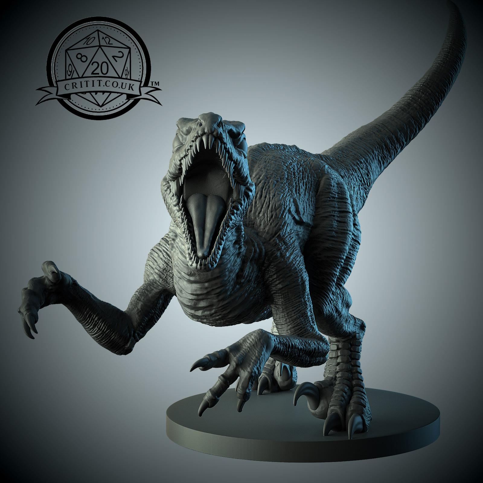 Critit collectible miniatures - Raptor
