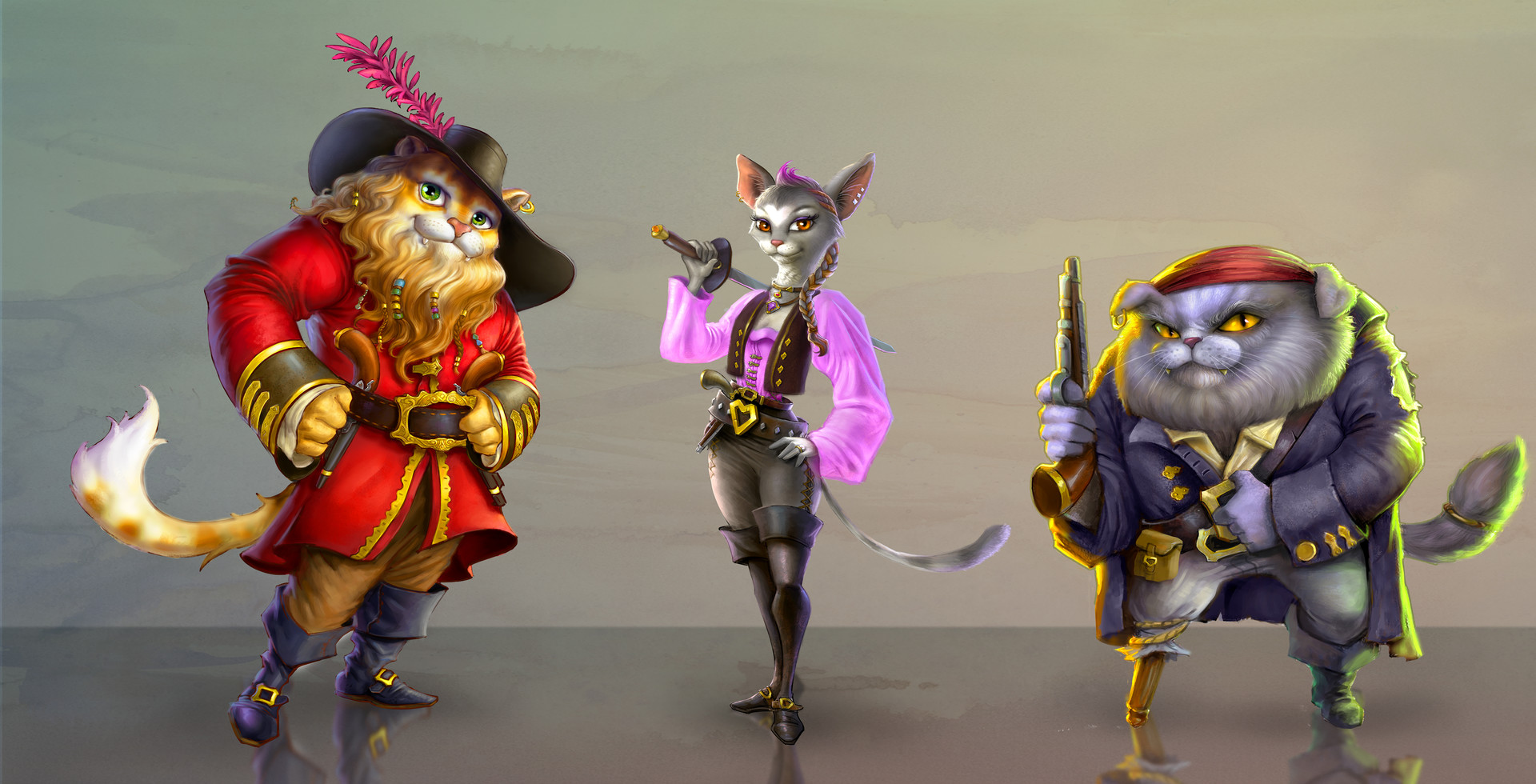 S c o t t a l t m a n n pirate cats a