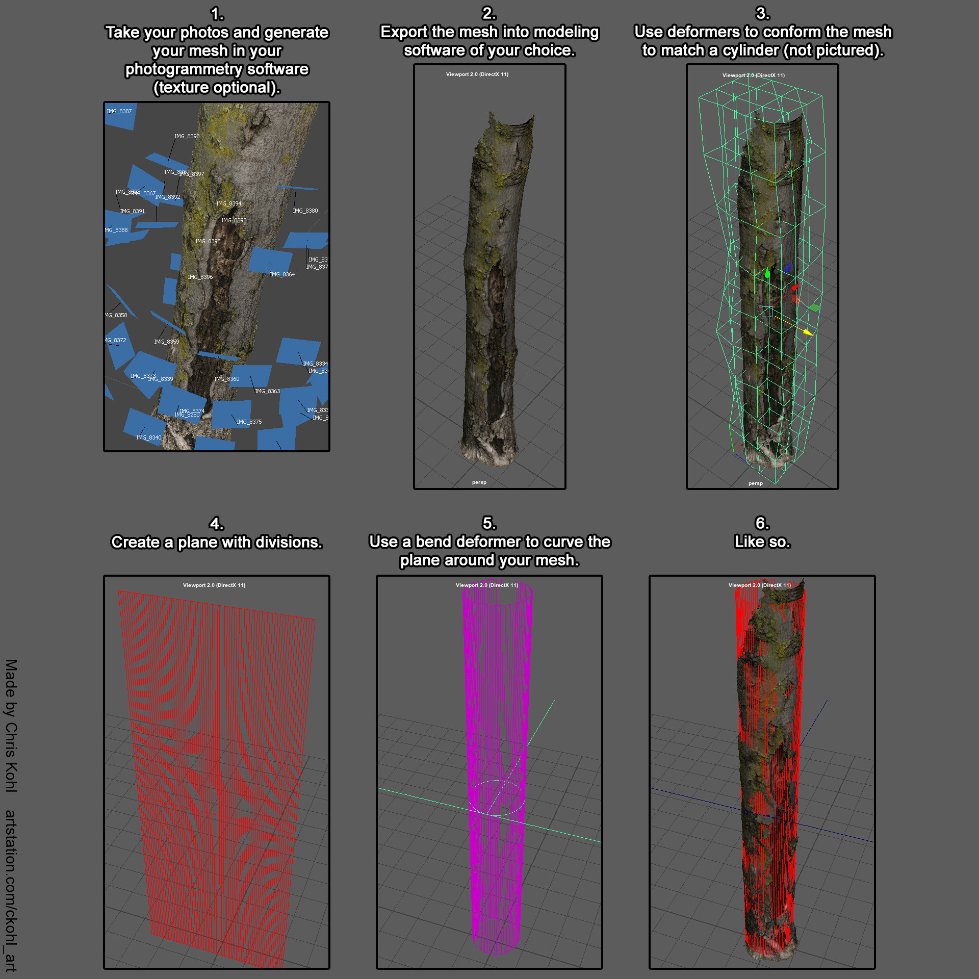 ArtStation - Building a Library of Vector Displacement Stencils with