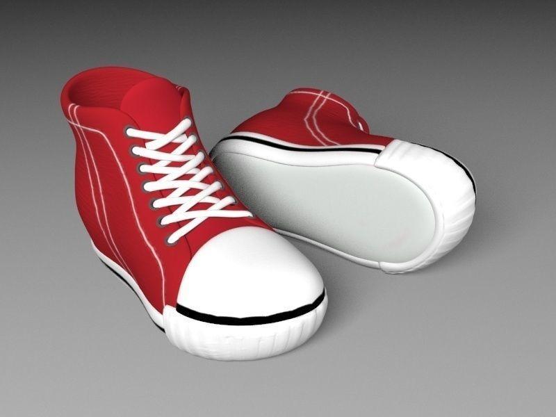 Peta cabi cartoon red shoes 3d model low poly max obj mtl fbx unitypackage  prefab 1 2a35d75a2