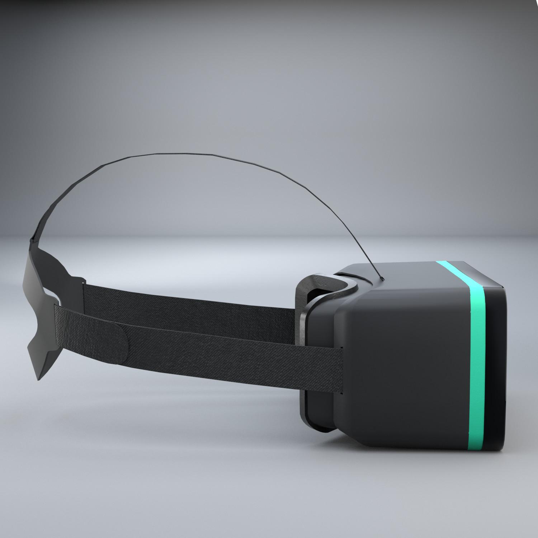 Viacheslav B - Simple VR Headset Free Model