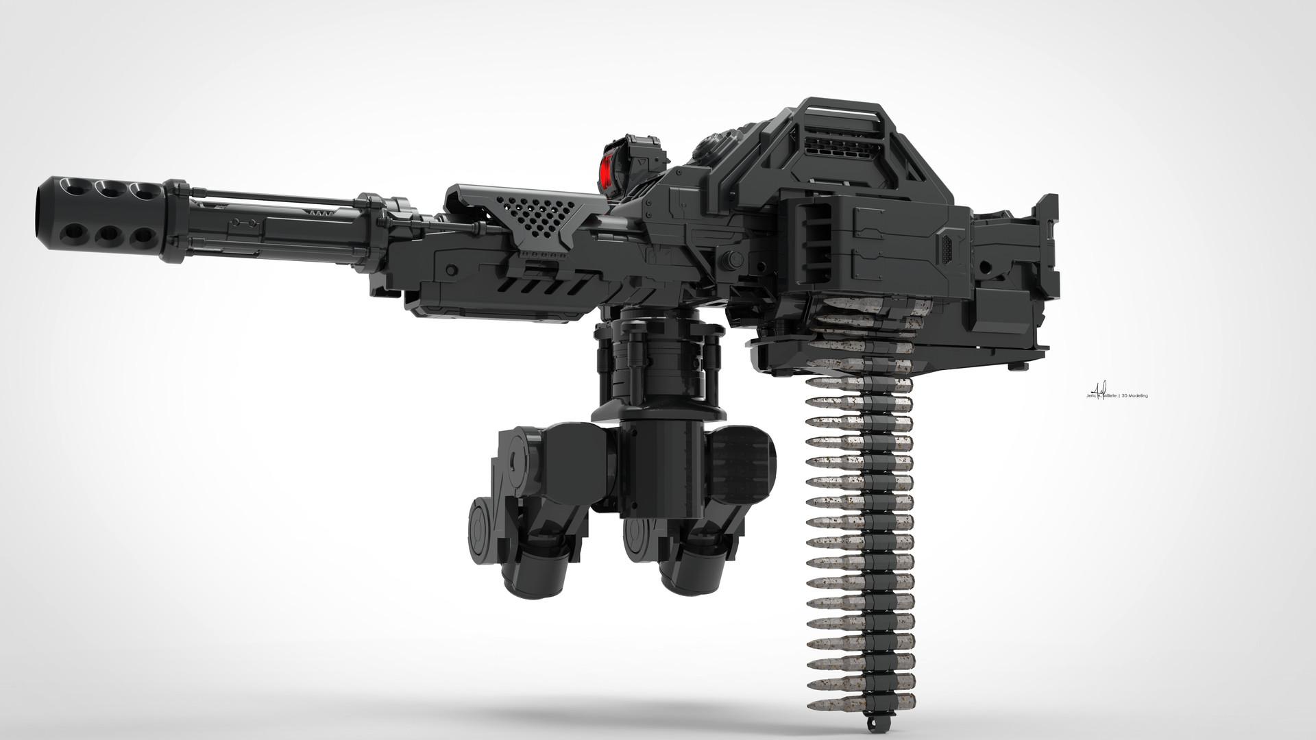 картинки с пулеметами будущего