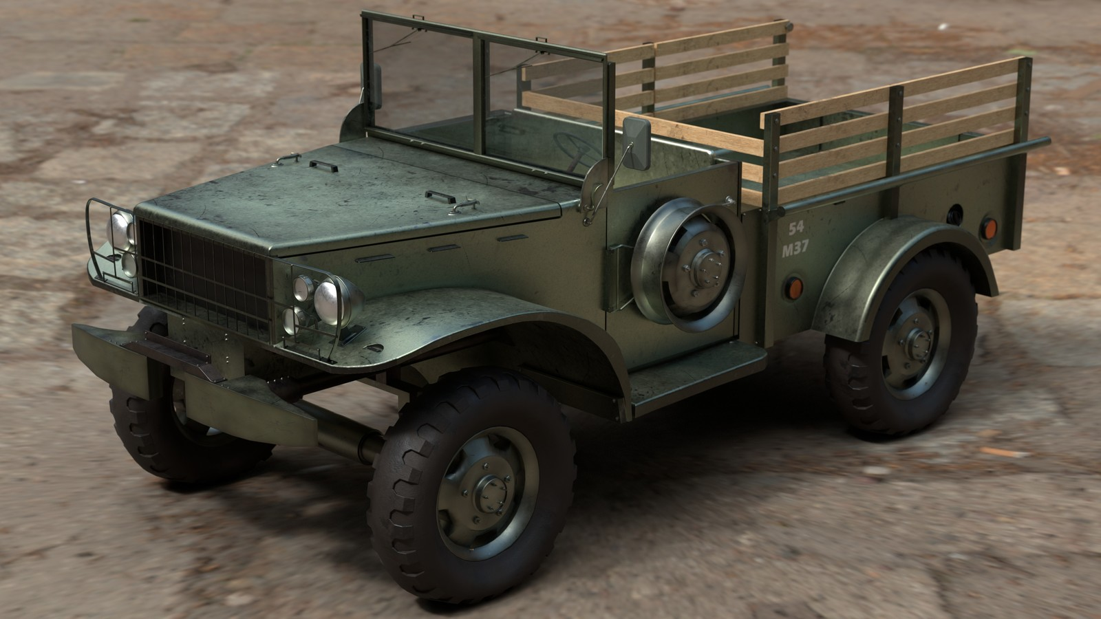 WWII Dodge WC-51