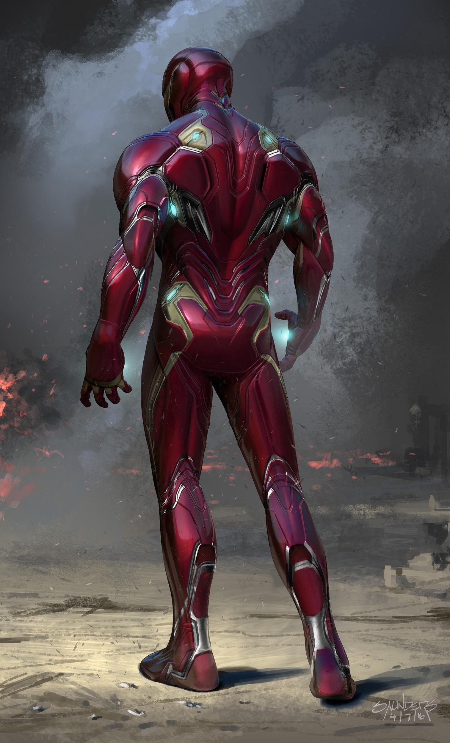 ArtStation - Avengers: Infinity War (2016) - Iron Man Mk 50