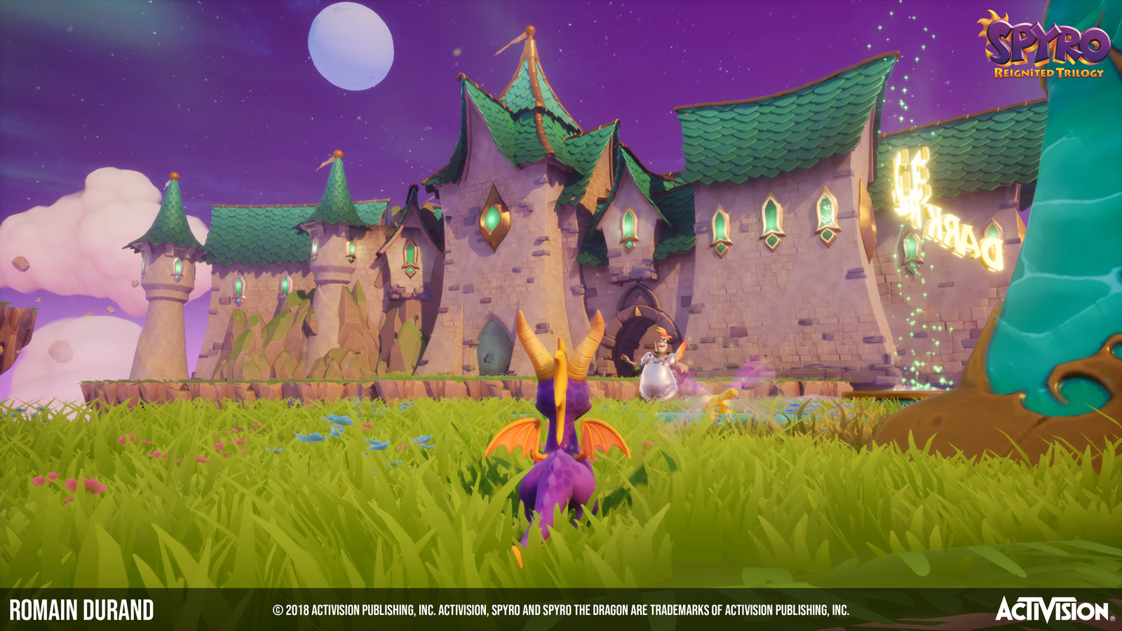 © 2018 Activision Publishing, Inc. ACTIVISION, SPYRO and SPYRO THE DRAGON are trademarks of Activision Publishing, Inc.