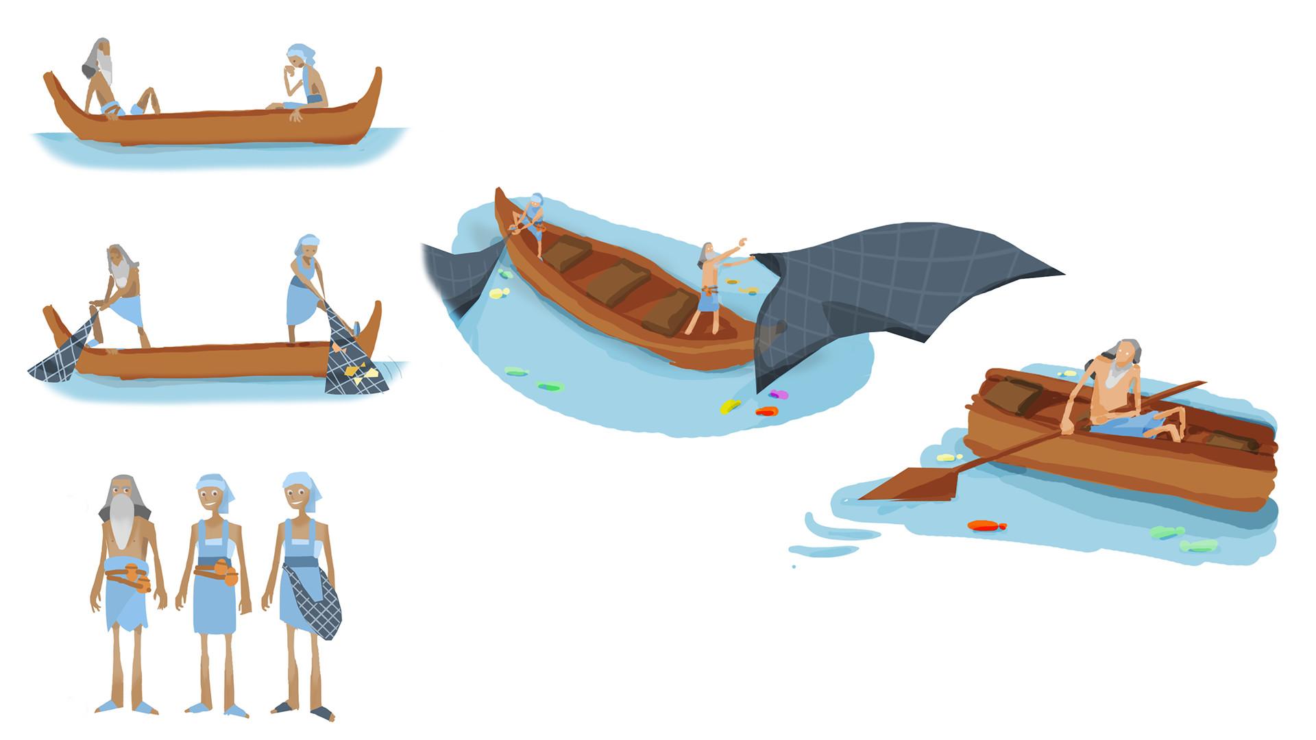 Sara calzada fishermen