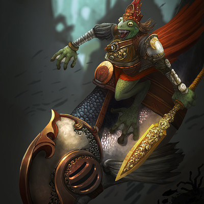 Ahmadreza khaksari the frog warrior