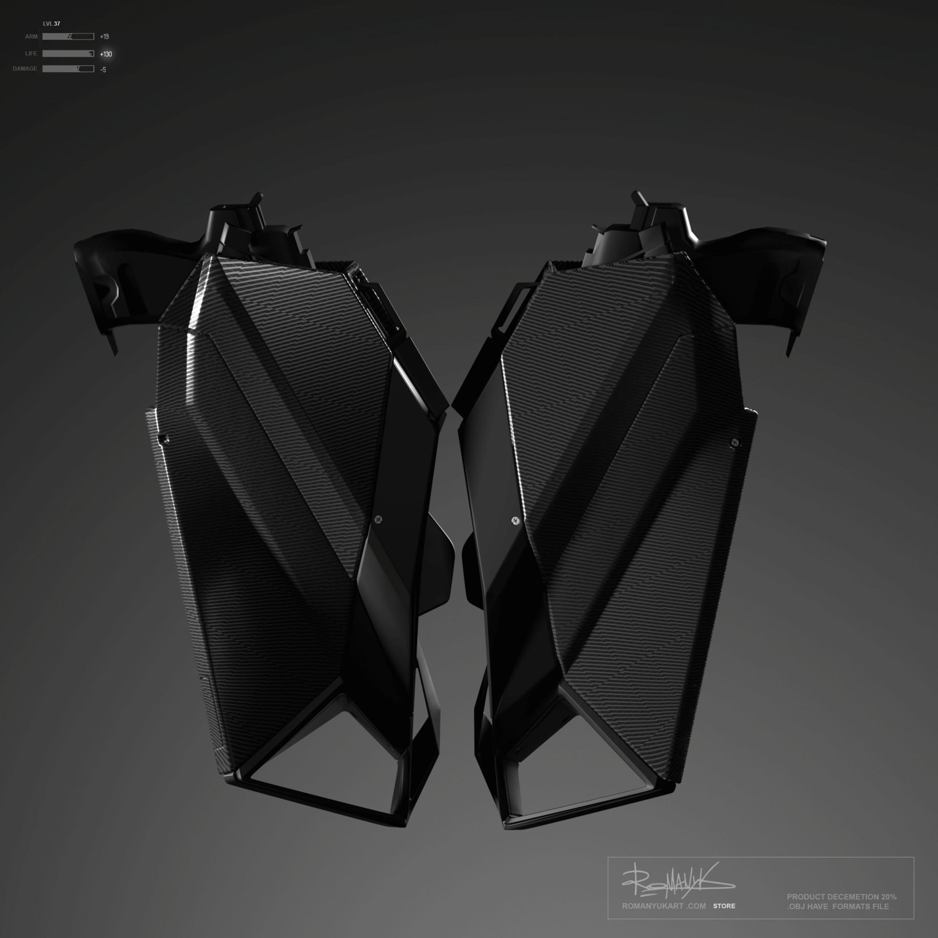Yuriy romanyk backpack weapons01