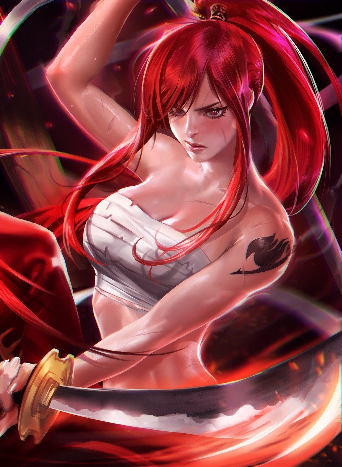 Erza-Scarlet-Fairy-Tail艾露莎