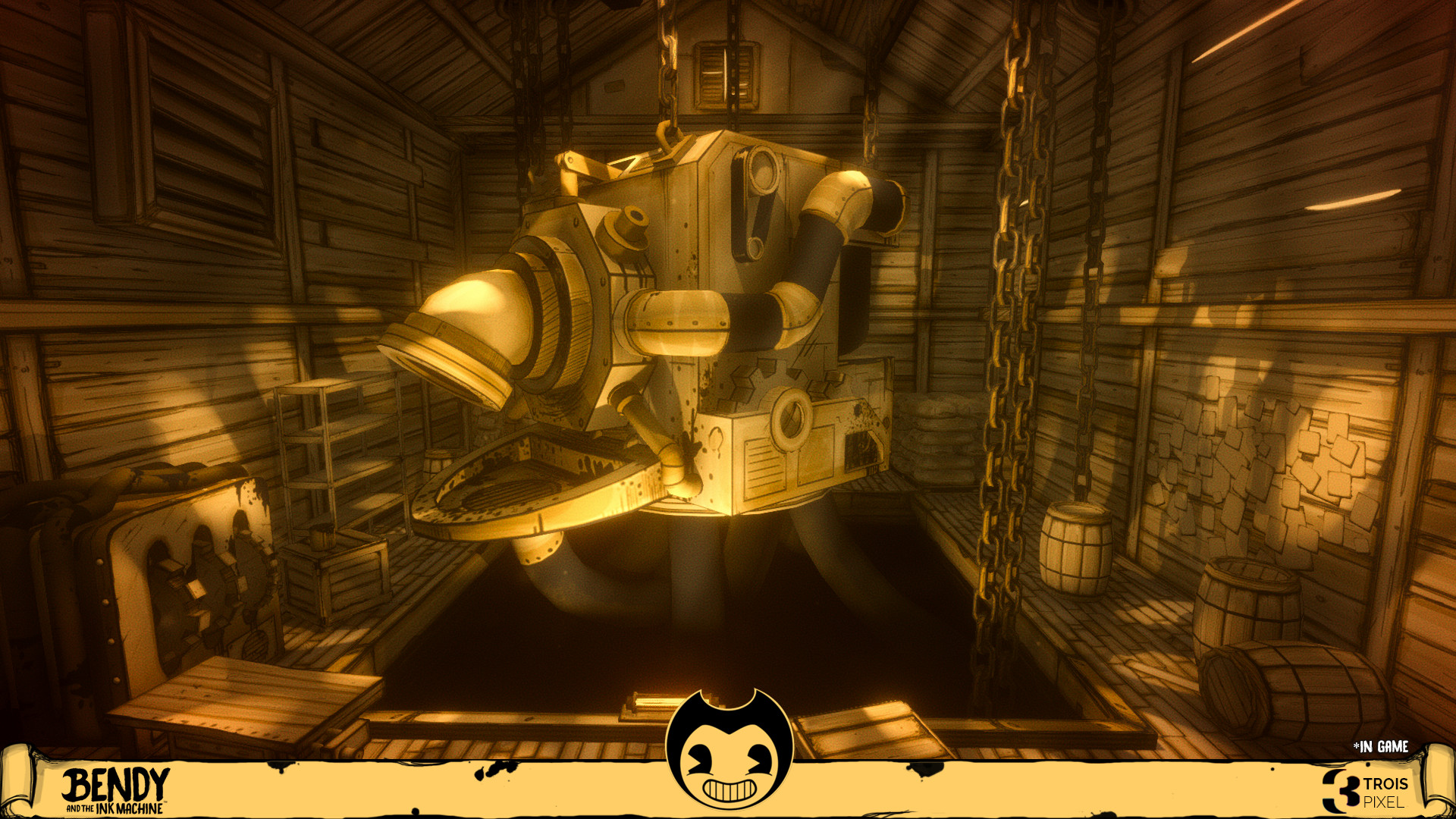 Artstation Bendy And The Ink Machine Chapter 1 Revamped Ink