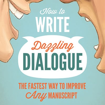 Josh kenfield dazzing dialogue cover design jkenfield