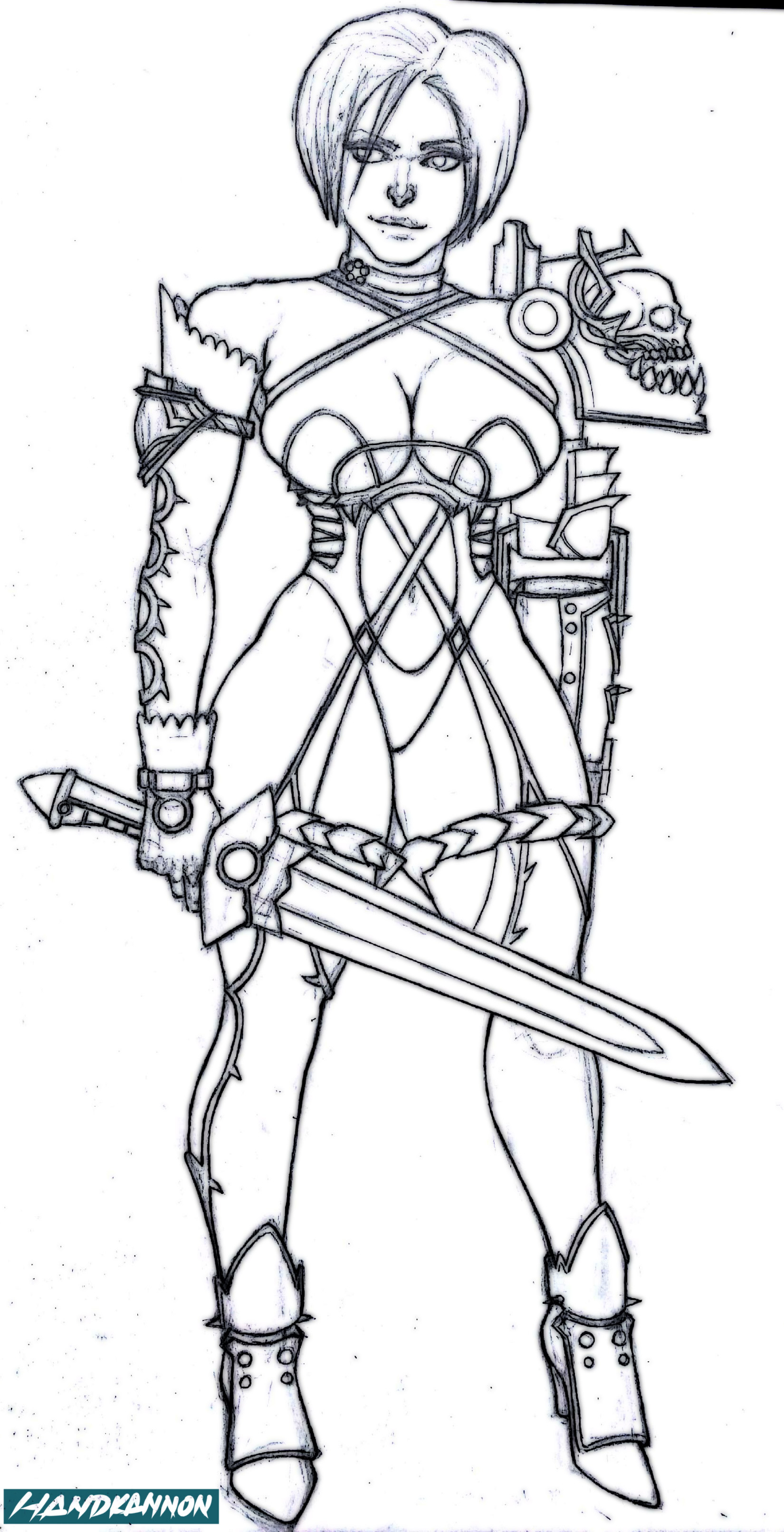 Keith wilson ivy lineart