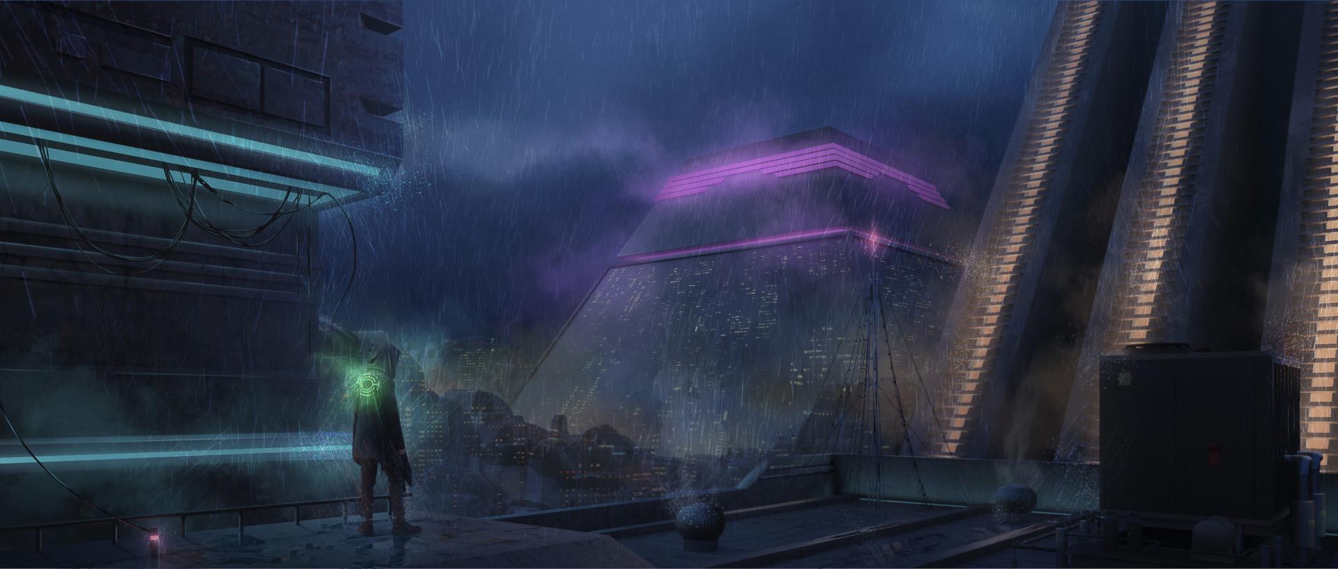 Rain City by Raúl CM : Cyberpunk