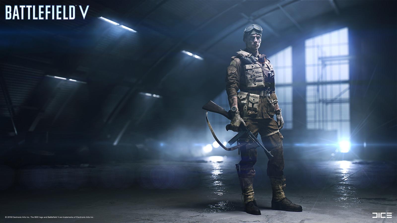 """Battlefield V"" - Character Roster Environment - Concept Art"