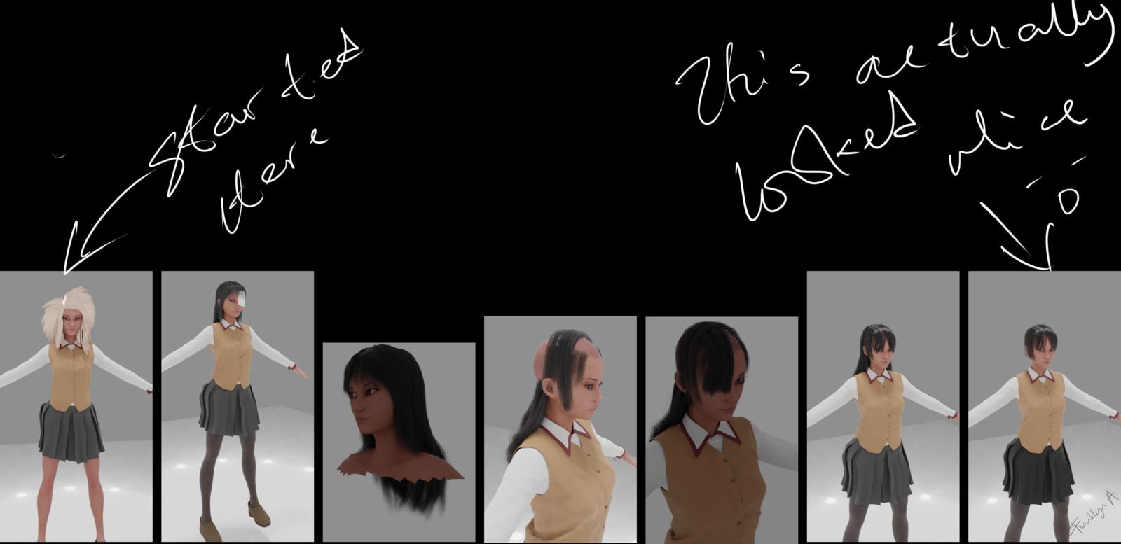 Hair Process
