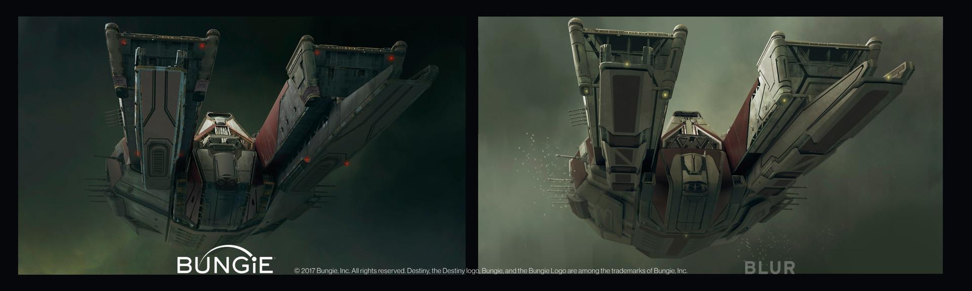 Nicolas gekko nuare studio cabal ship variants
