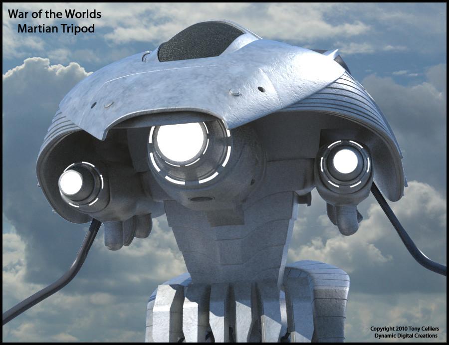 War of the worlds tripod