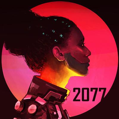 Christiaan du toit 2077 fanart brighter
