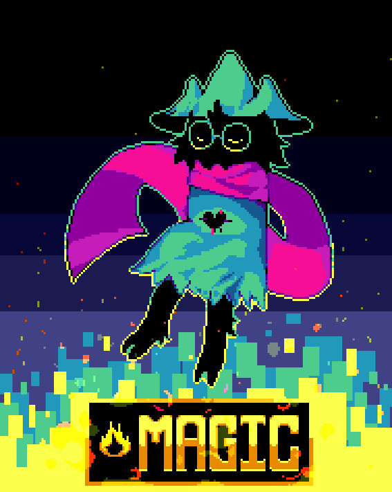 Max Baer - Deltarune pixel characters