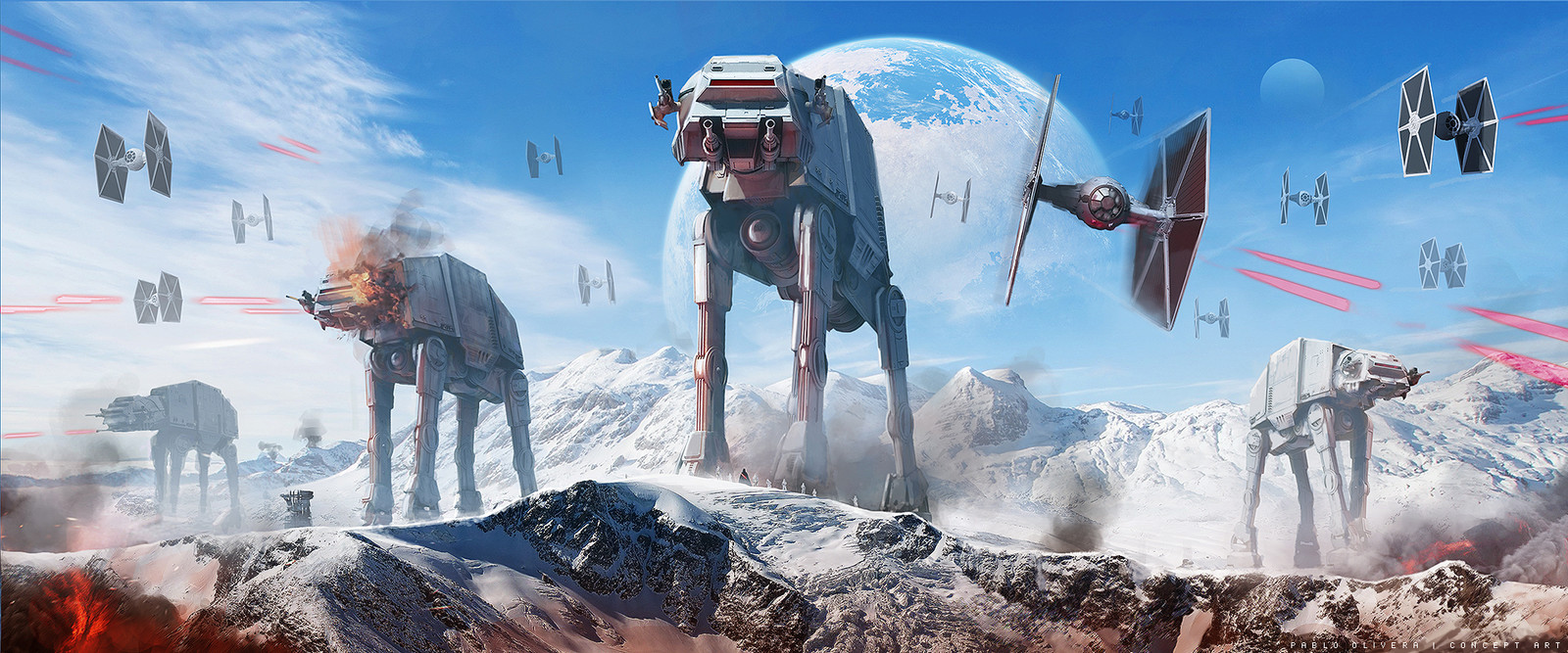 Star Wars, Battle of Hoth